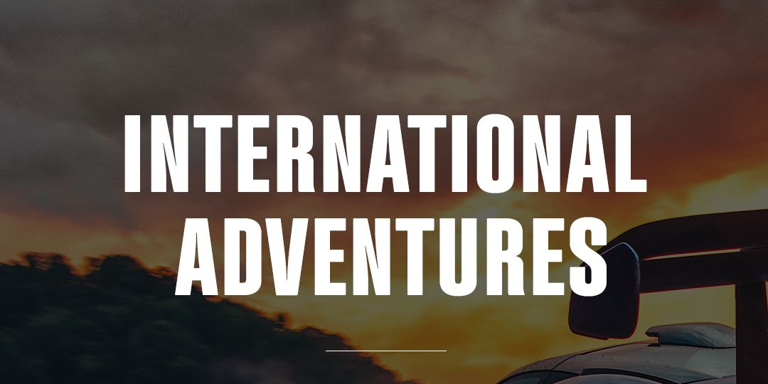The Adventures Are Going International, And You Can Join