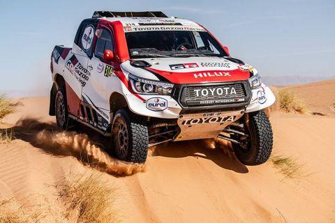 Imágenes de la etapa 3del Rally de Marruecos
