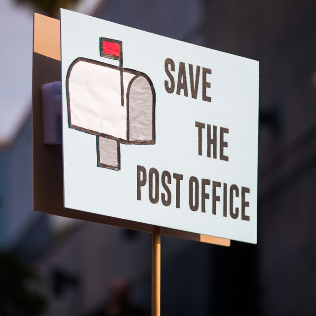 rally to save the post office   los angeles, ca
