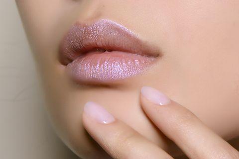 Lip, Face, Skin, Cheek, Close-up, Pink, Beauty, Nail, Chin, Nose,