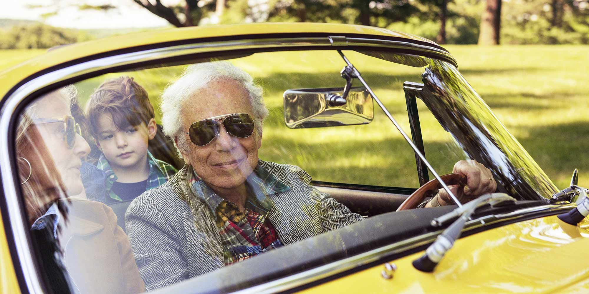 Ralph Lauren Talks Family, Fashion, and His Global Empire