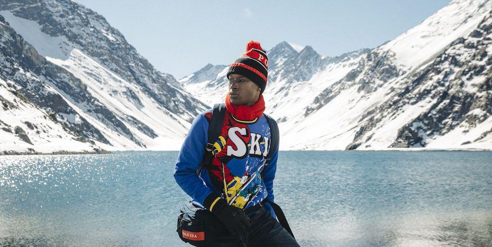 Ralph Lauren Downhill Skier