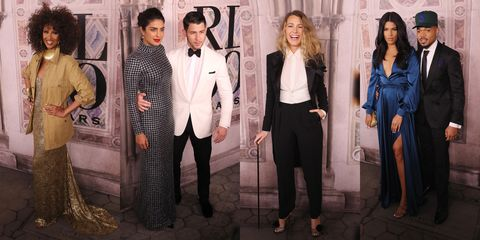 4ad25015 Blake Lively, Kanye West, and 30+ Other Celebs Came Out for Ralph Lauren's  50th Anniversary Show