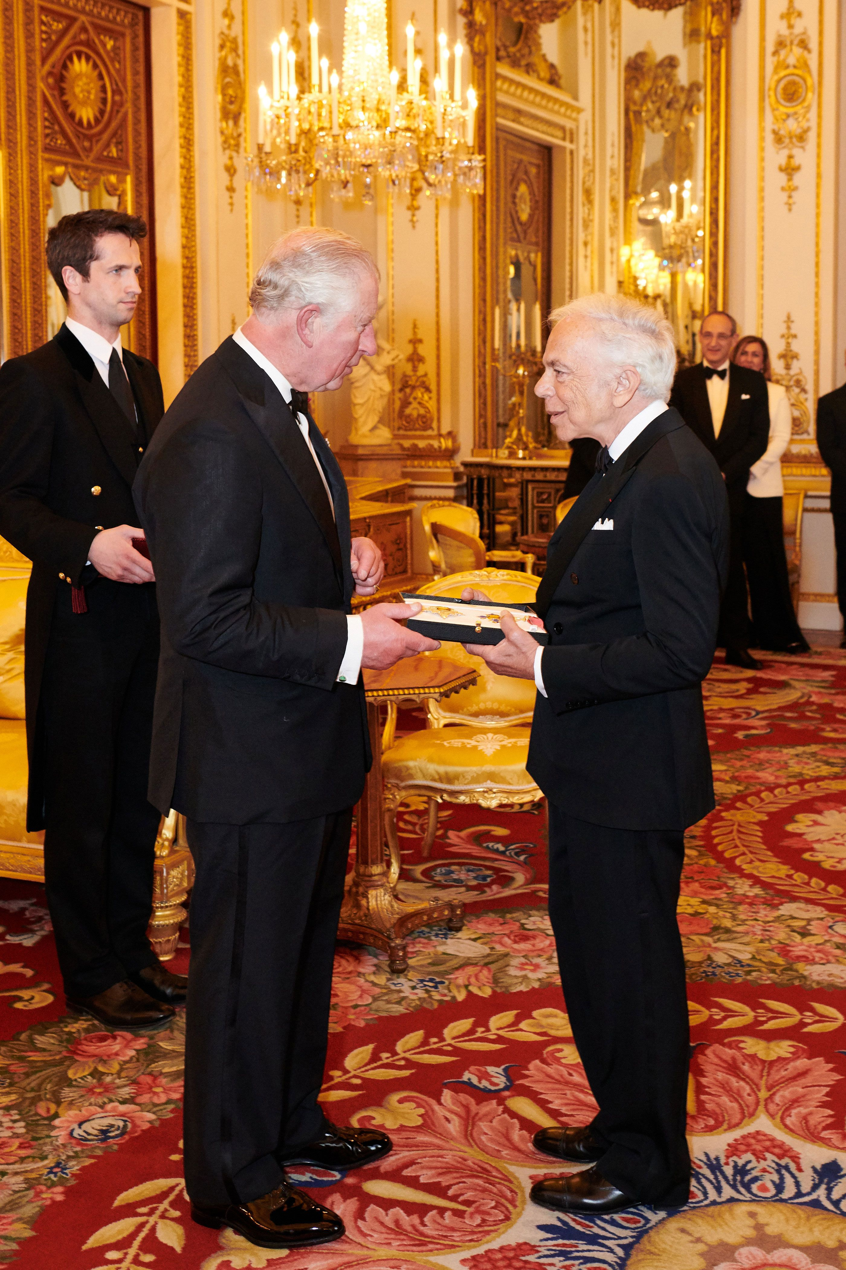 Ralph Lauren Was Just Presented With an Honorary UK Knighthood
