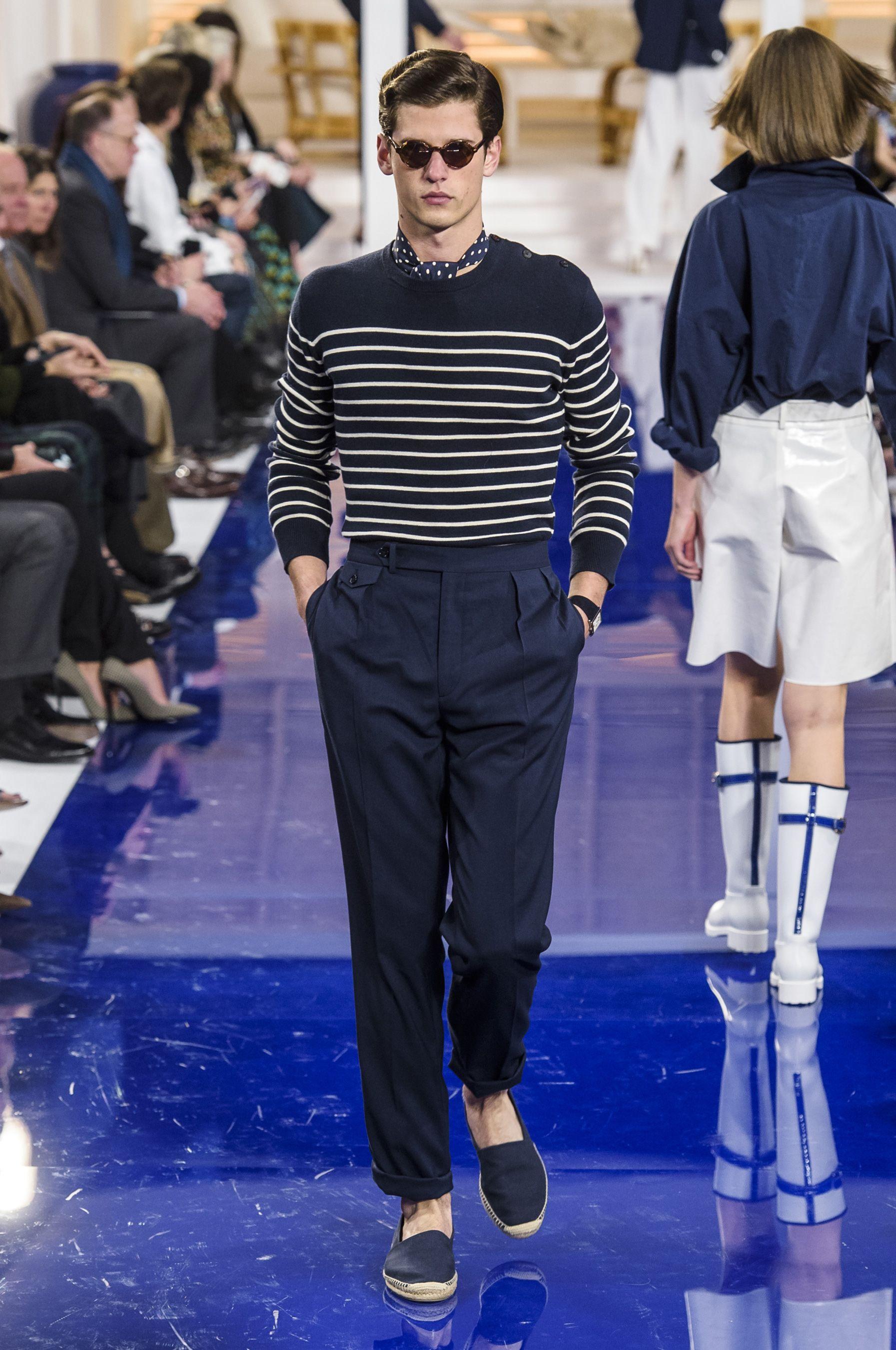 d0a60aba724 Looks From Ralph Lauren Spring 2018 NYFW Show – Ralph Lauren Runway at New  York Fashion Week