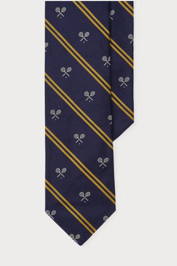 Corbata azul hombre, corbata clásica