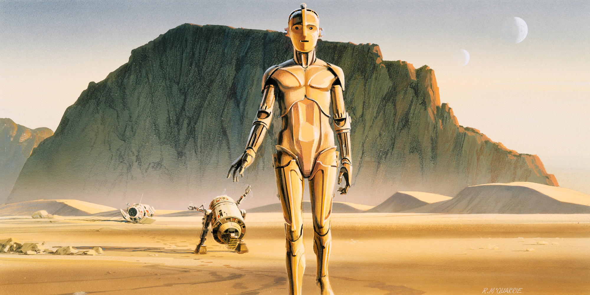 Ralph Mcquarrie y el espectacular concept art de Star Wars
