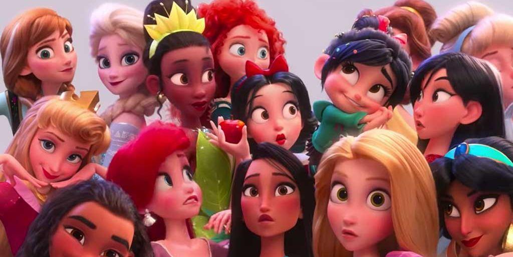 Las princesas Disney en 'Ralph rompe internet'