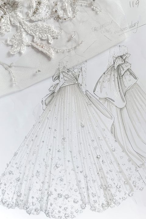 Ralph & Russo bridal gown couture autumn/winter 2019