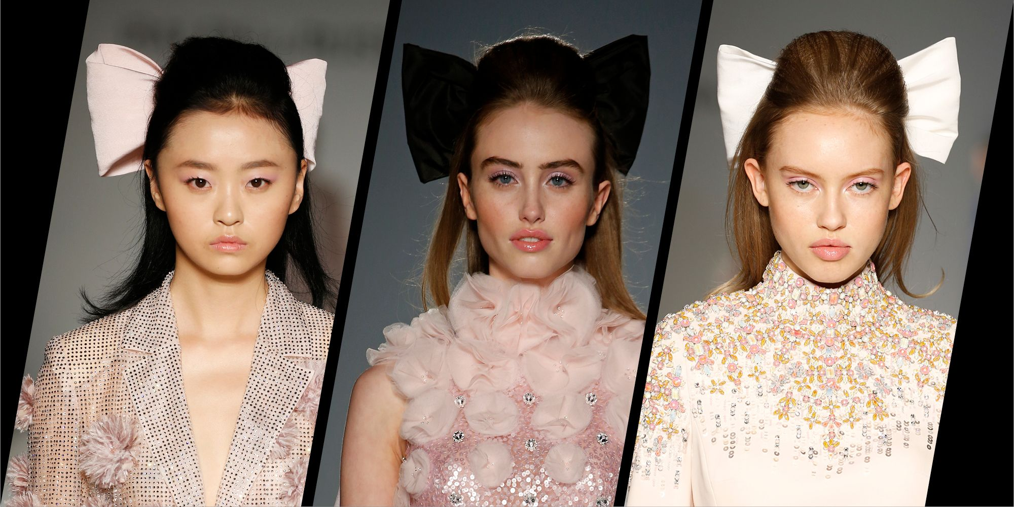 When couture and Clueless collide: Models at Ralph & Russo channelled Alicia Silverstone with their hair