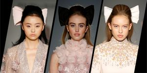 Ralph & Russo Haute Couture S/S20 Hair look