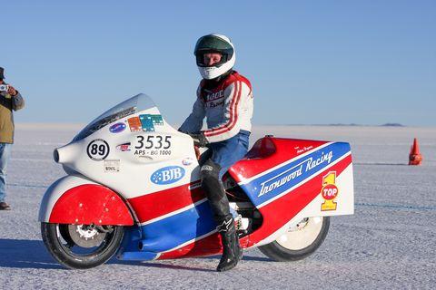 motorcycle racer ralph hudson succumbs to injuries from bonneville crash