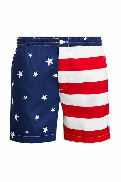 board short, Clothing, Shorts, Trunks, Active shorts, Bermuda shorts, Flag, Swimwear,