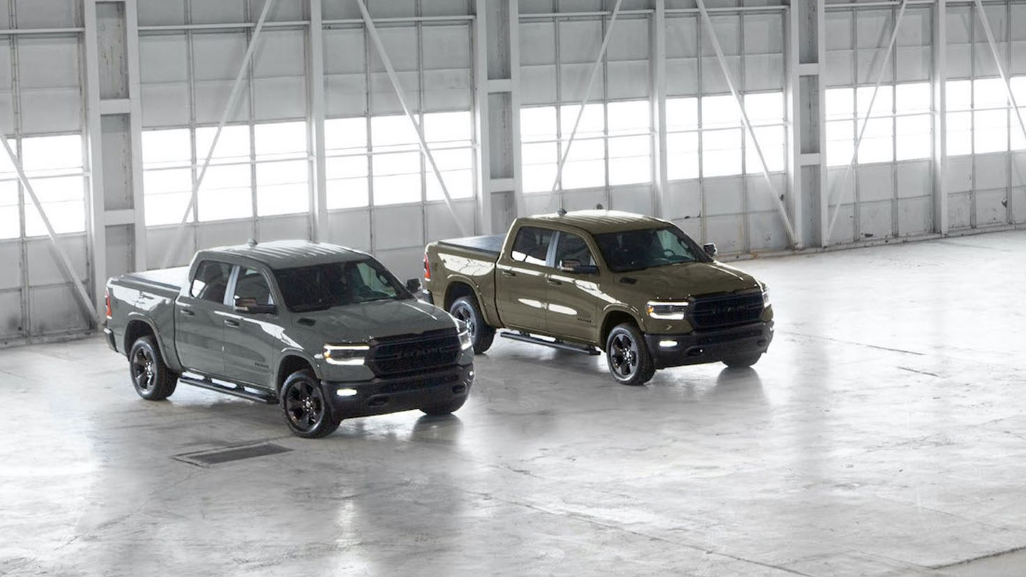 Ram 1500 Built To Serve Edition Is Back In New Navy Colors
