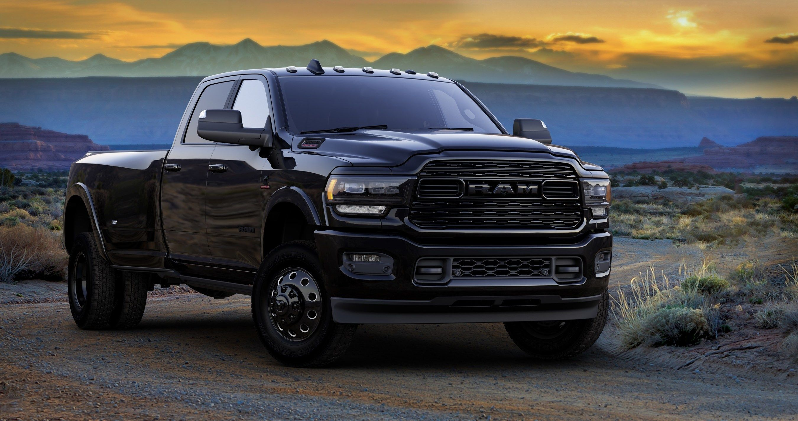2020 Ram Hd Limited Adds Blackout Package To Ram 2500 3500 Models