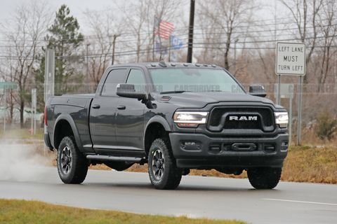 2020 Ram Power Wagon Cummins Engine, Interior, Release Date >> New 2020 Ram Power Wagon 2500 Photos Of Heavy Duty Pickup