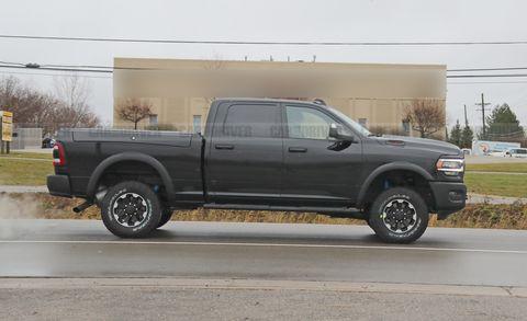 New 2020 Ram Power Wagon 2500 Photos Of Heavy Duty Pickup