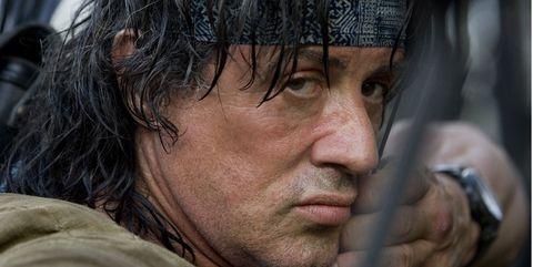 Sylvester Stallonehace de John Rambo en 'Rambo 4'