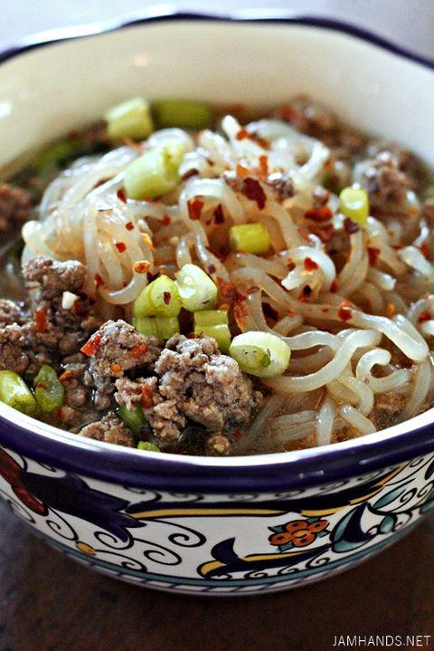 Spicy Beef Shaitaki Ramen