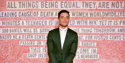 Rami MalekMontblanc And (RED) Launch The New (Montblanc M)RED Collection To Fight AIDS At New York's World Of McIntosh Townhouse