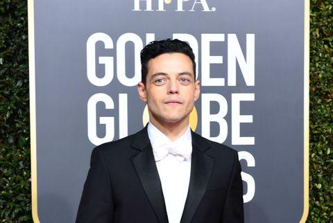 Rami Malek at the Golden Globes 2019