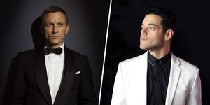 Rami Malek Daniel Craig James Bond 25