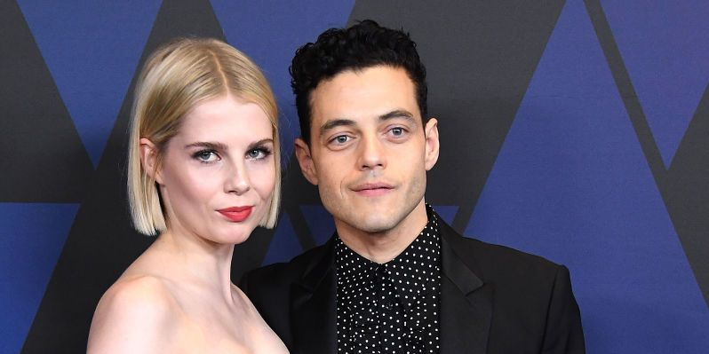 Lucy Boynton, Rami Malek arrives at the Academy Of Motion Picture Arts And Sciences' 10th Annual Governors Awards at The Ray Dolby Ballroom at Hollywood & Highland Center on November 18, 2018 in Hollywood, California.