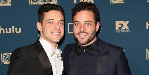 Rami Malek and twin brother Sami Malek