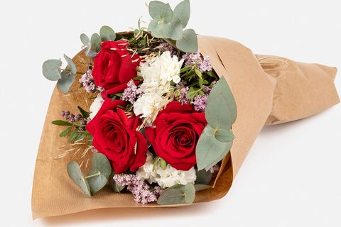 Ramo de rosas: Platonic Red Roses