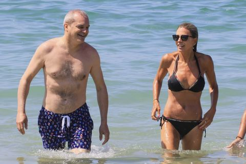 Ramón García con su mujer Patricia Cerezo