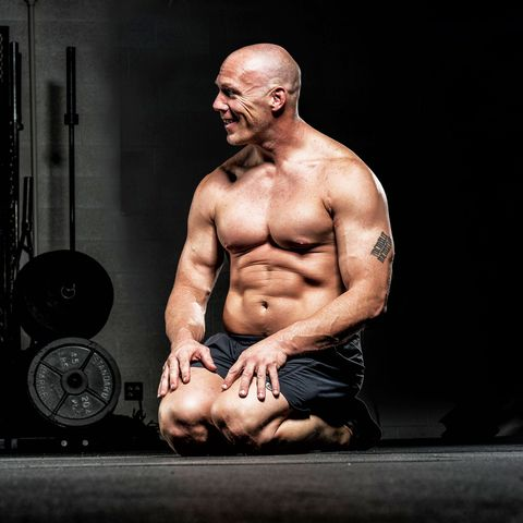 Bodybuilding, Muscle, Physical fitness, Barechested, Shoulder, Arm, Chest, Bodybuilder, Chin, Exercise equipment,