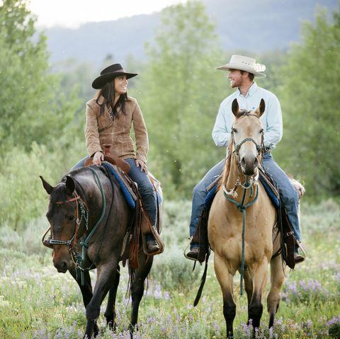 rancher couple, montana