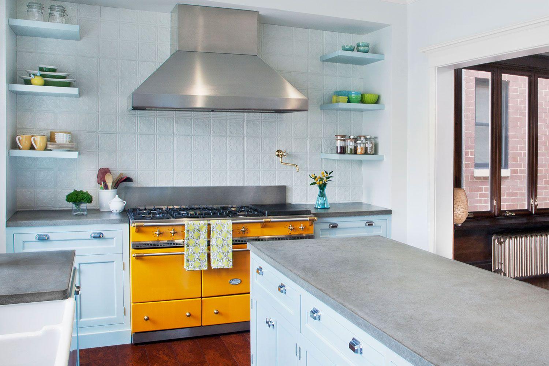 Beau Yellow Kitchens