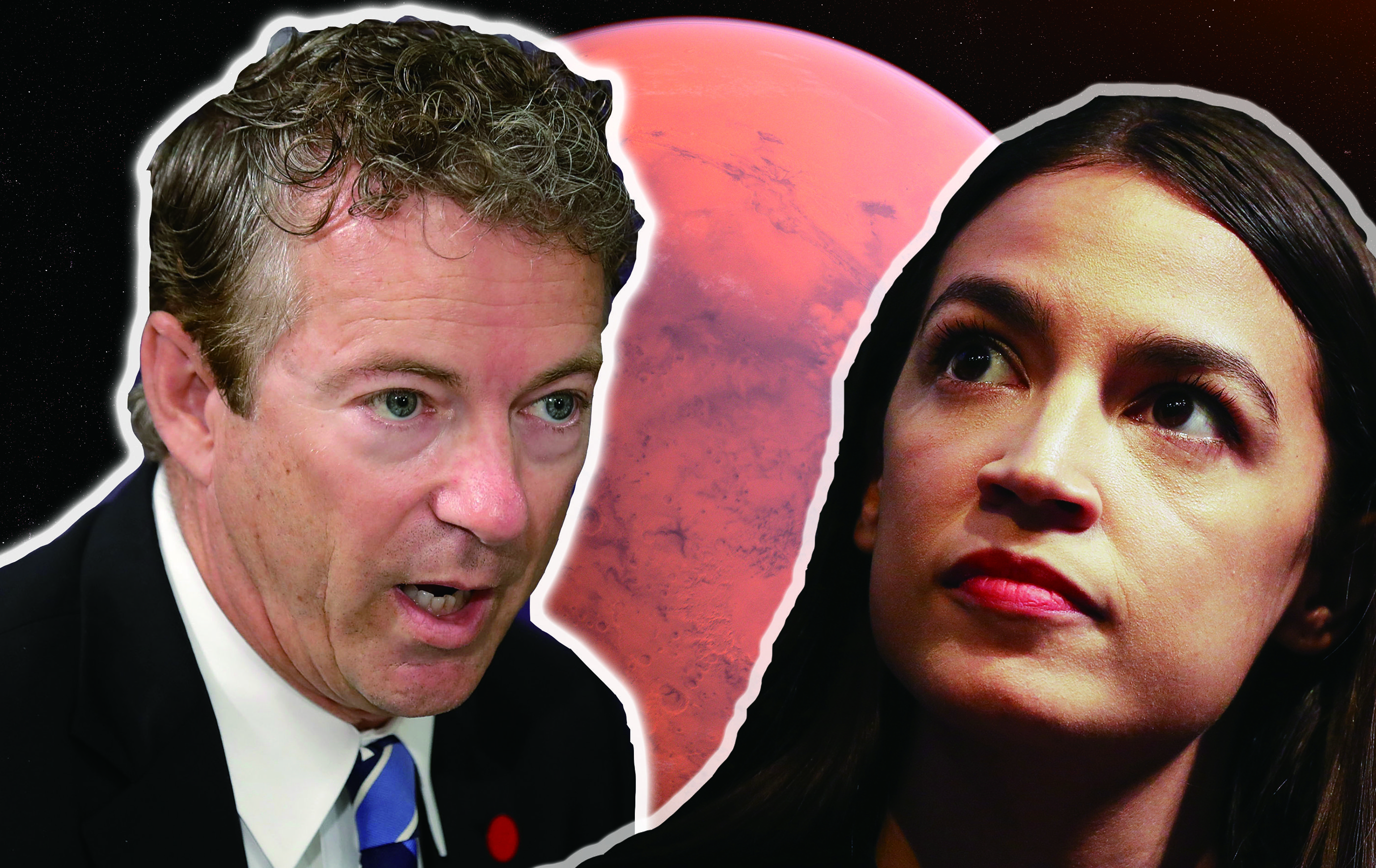 Rand Paul: Earth Is Fine! What We Should Really Do Is Terraform Mars