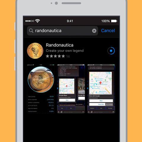 imagen de la app randonáutica