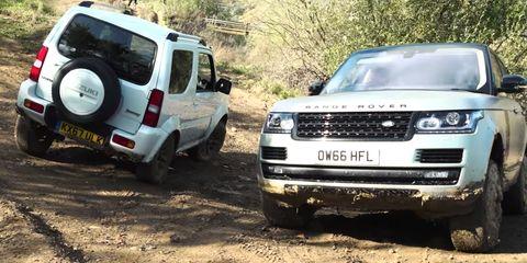 Land vehicle, Vehicle, Car, Regularity rally, Sport utility vehicle, Off-road vehicle, Land rover discovery, Off-roading, Mini SUV, Mitsubishi,