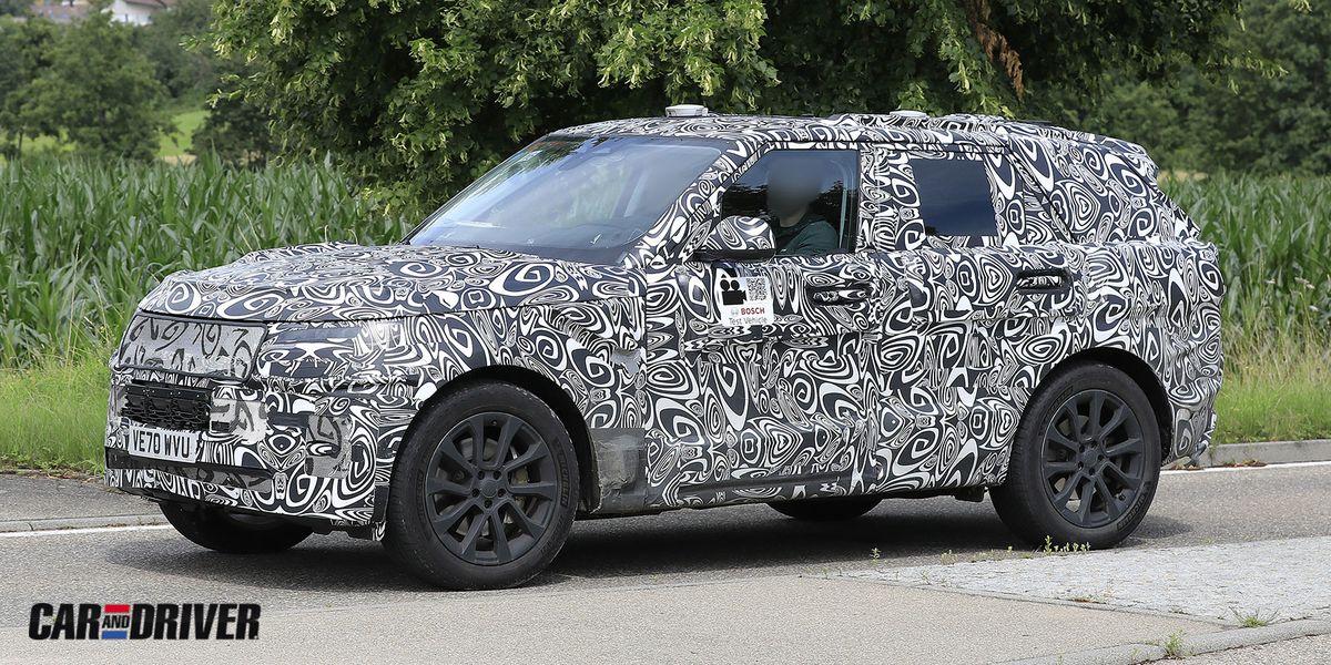 Range Rover Sport 2023: La nueva generación del SUV británico se asoma