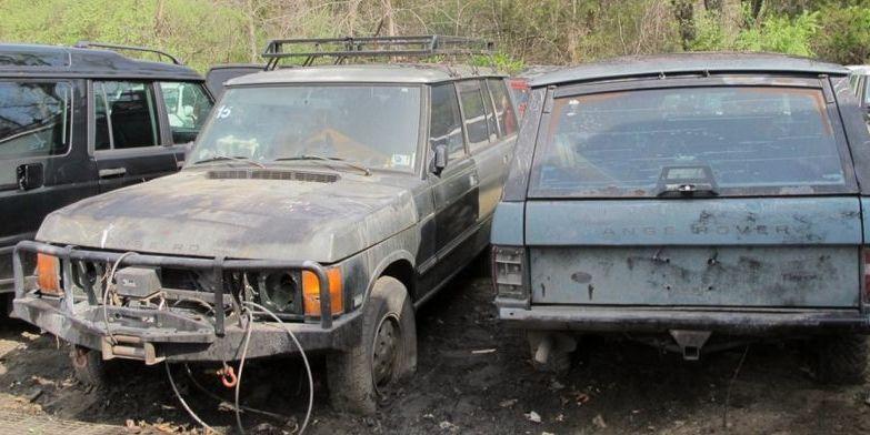 ¿Cuanto pagarías por 16 Range Rover en este estado? Se ofrecen por 73.000 dólares