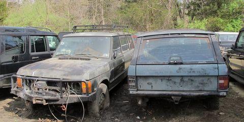venta range rover fuera de servicio