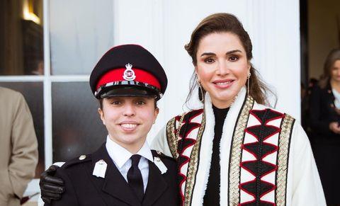 Rania de Jordania y su hija