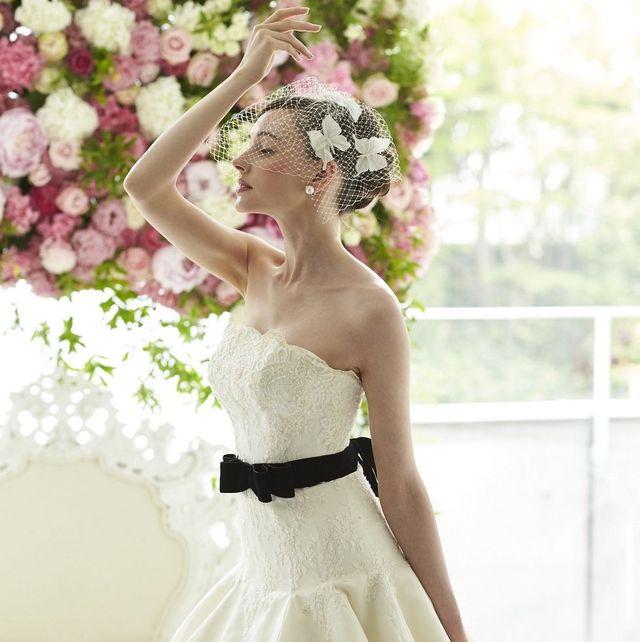 レフェクチュールのドレス着用モデルカット