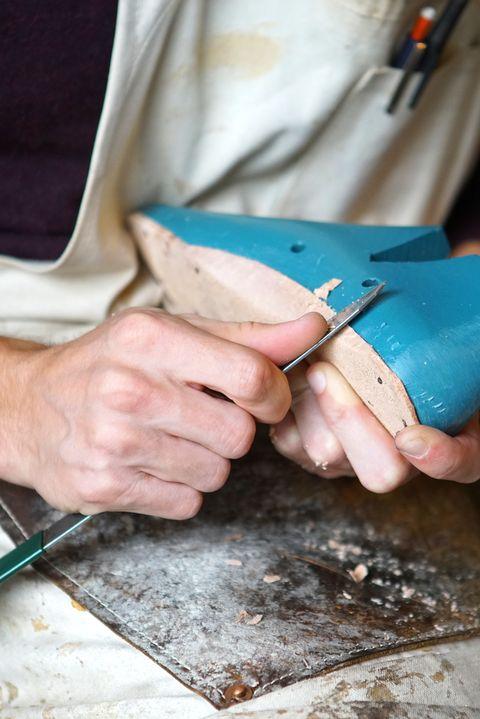 Hand, Artisan, Turquoise,