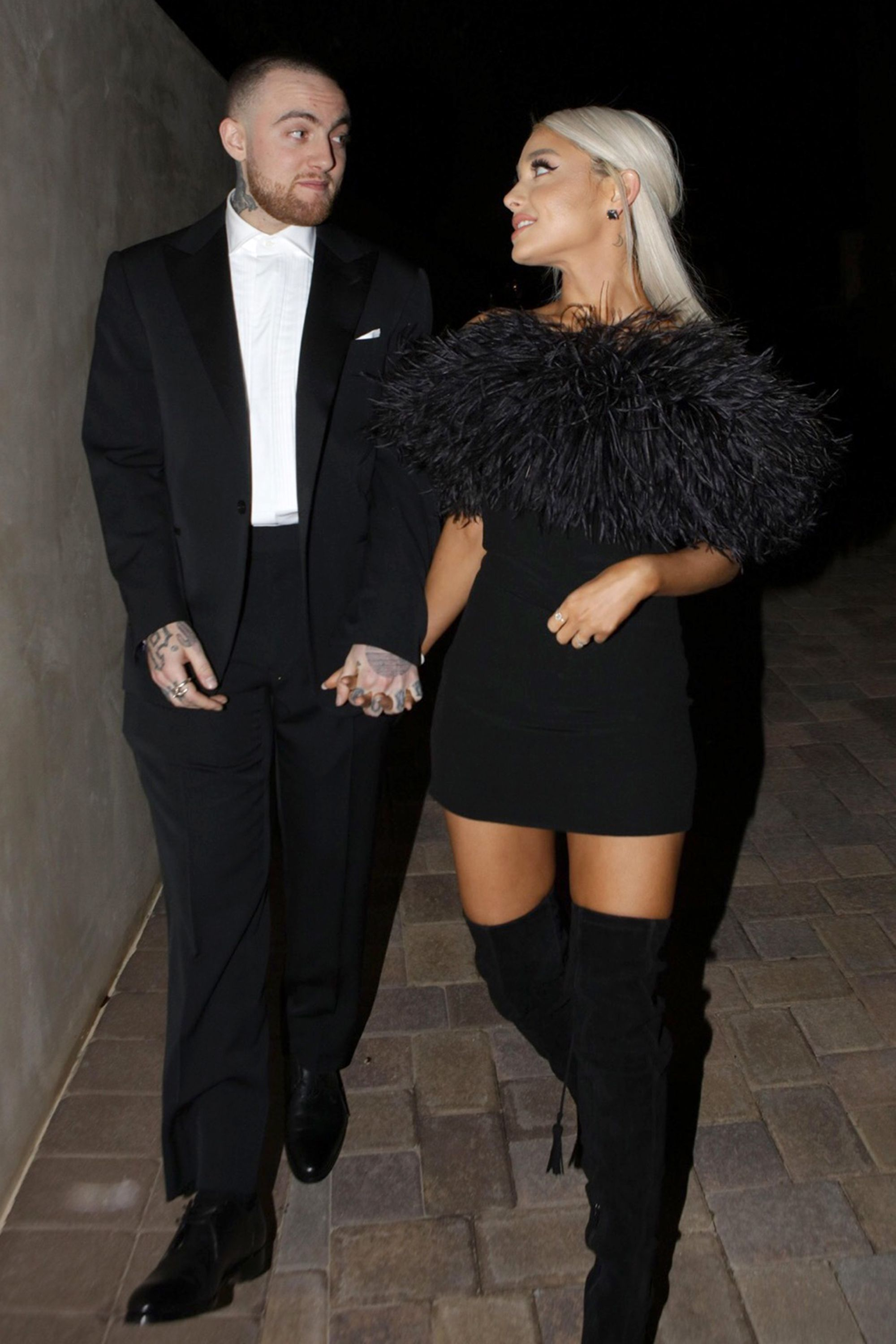when did mac miller and ariana date