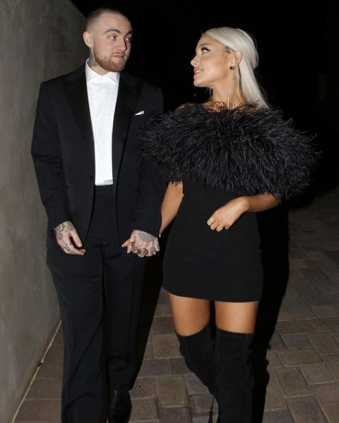 ariana grande opens up about mac miller a week after he passed away