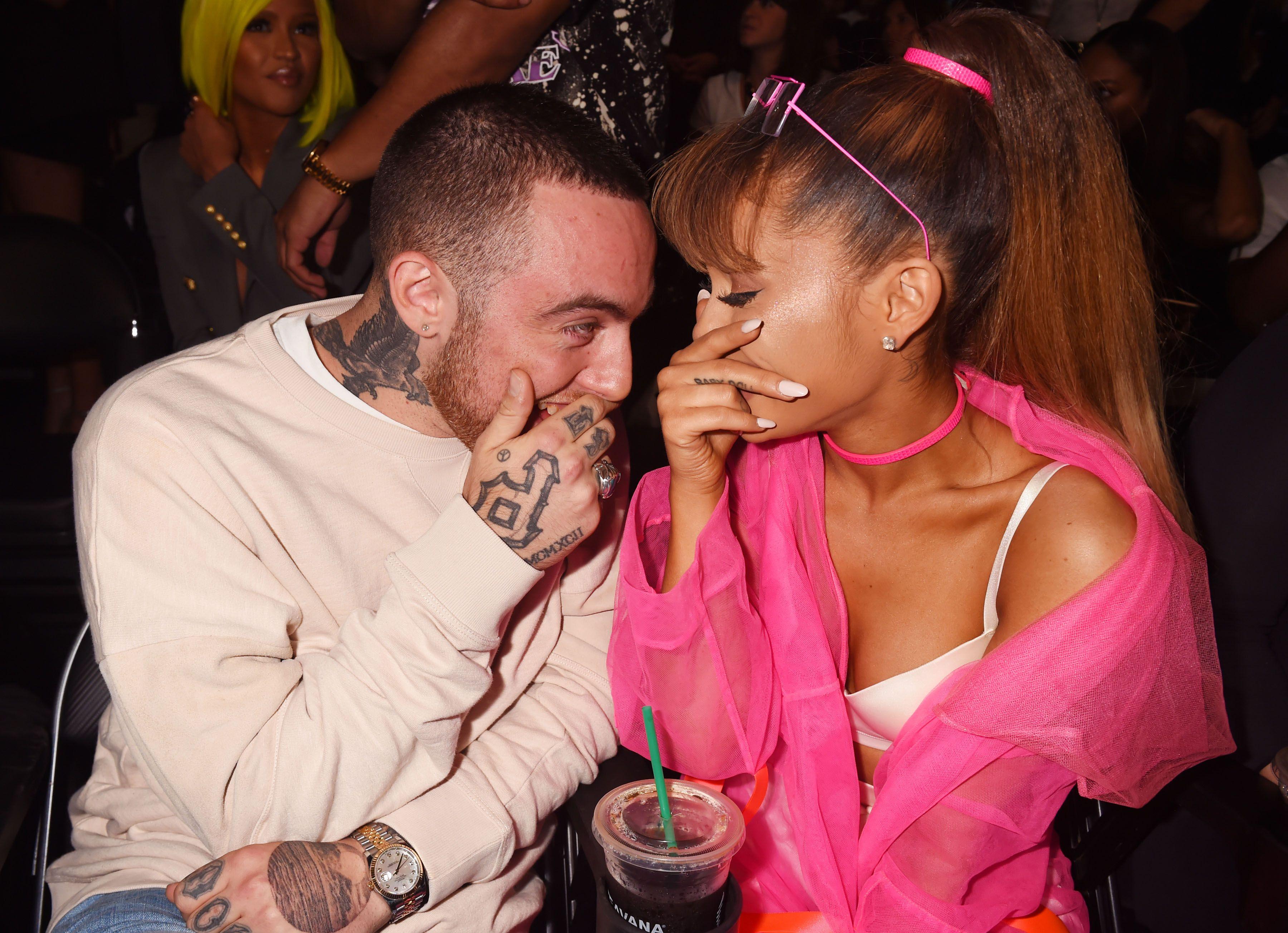 Ariana confirms dating nathan