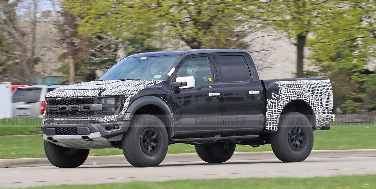 Listen to the 2022 Ford F-150 Raptor R's 700+-HP V-8