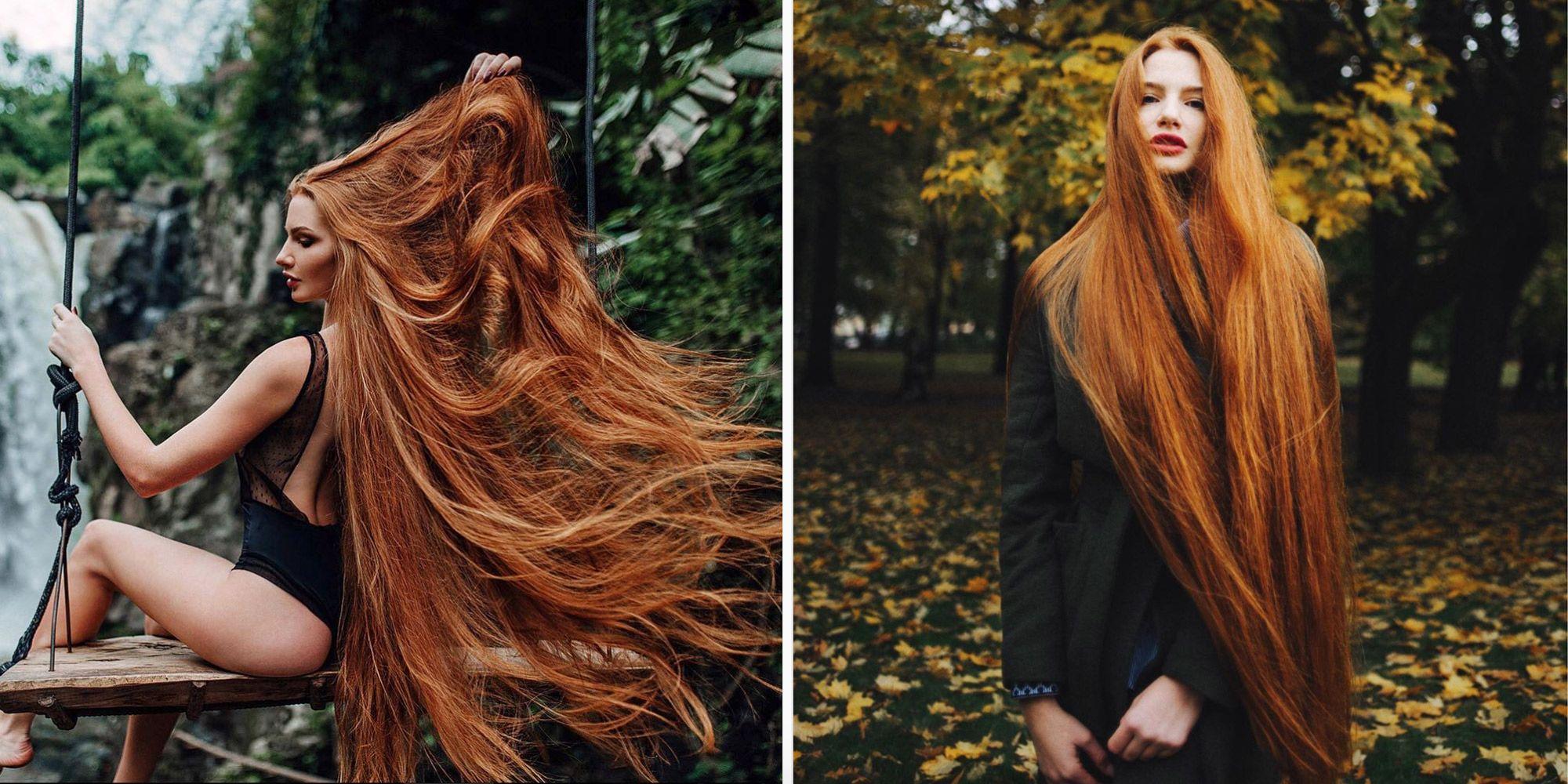 anastasiya sidorova is real life rapunzel with super long hair how