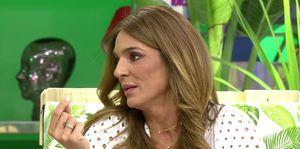 Raquel Bollo habla de la participación de su hijo en Supervivientes.