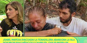 Raquel Bollo, Isabel PAntoja, Supervivientes