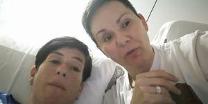 La novia de Raquel Morillas (GH 3), Noah, en el hospital tras complicarse una operación de muelas